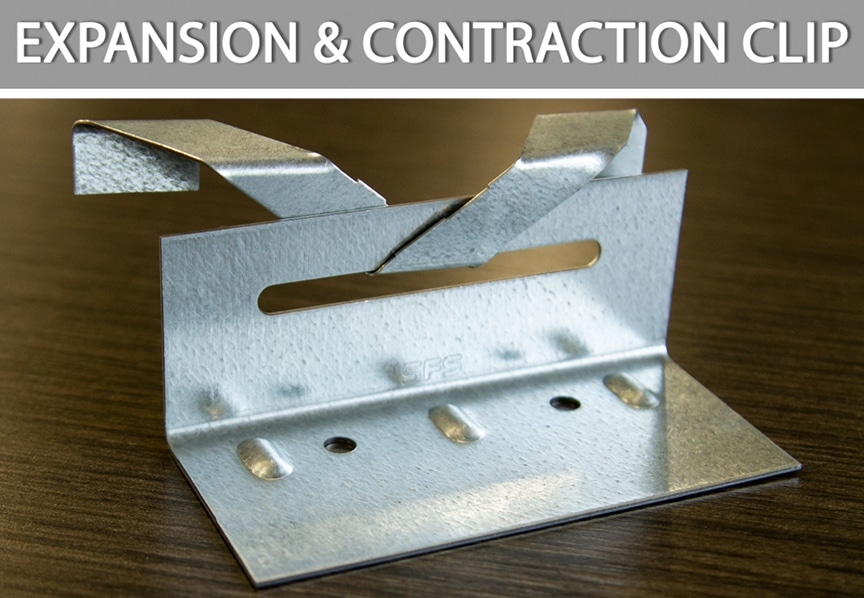 What are Metal Roofing Clips? Definitions, Types, & Comparisons: Expansion & Contraction Clip
