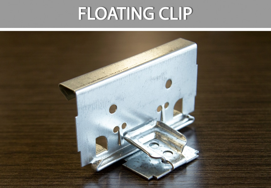 What are Metal Roofing Clips? Definitions, Types, & Comparisons: Floating Clip