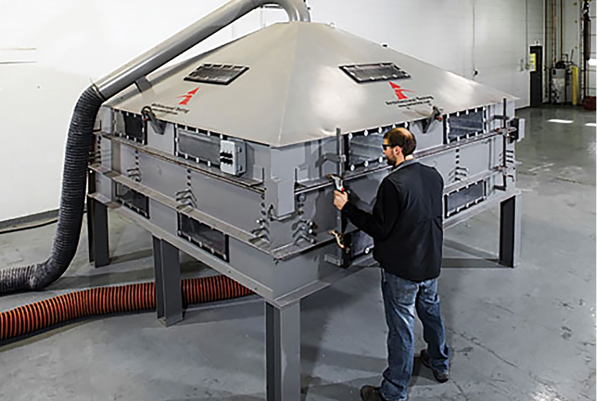 What are the Standards and Specifications for Metal Roofing Materials: Wind Uplift Testing Machines