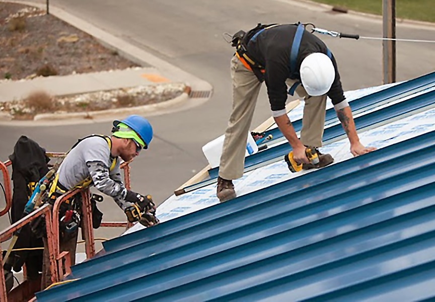 What is Standing Seam Metal Roofing? Comparisons, Types, & Uses: Skilled Installer