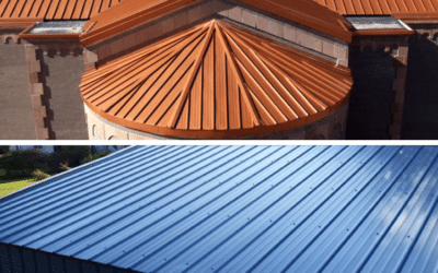 Standing Seam vs. Exposed Fastener Metal Roofing: A Comparison [Guide]