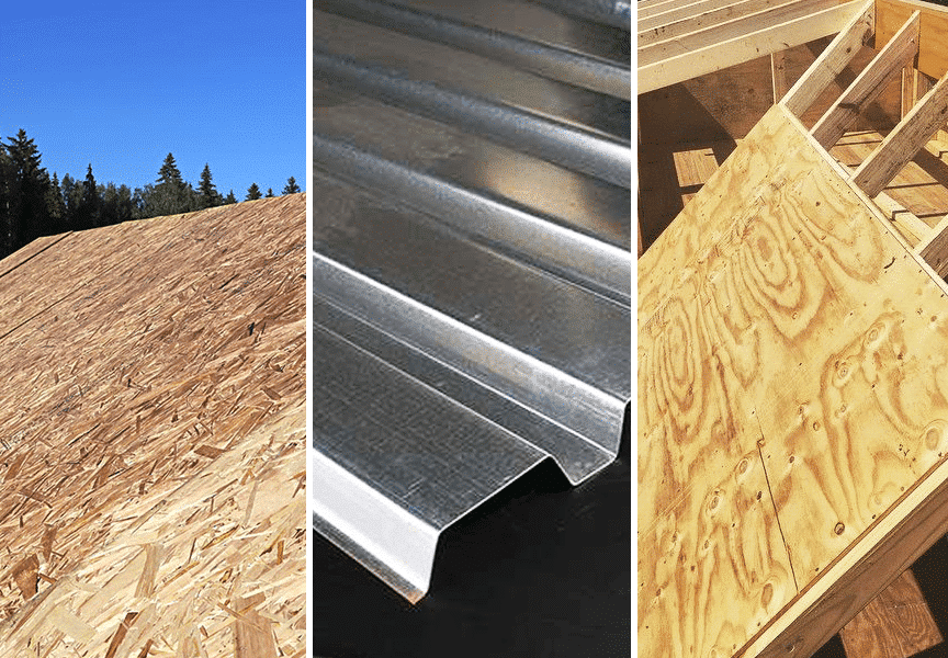 Metal Roof Deck Types / Substrates