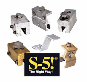 Metal Roofing Accessories & Components: S5 Clamps / Products