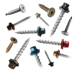 Metal Roofing Accessories & Components: Fasteners