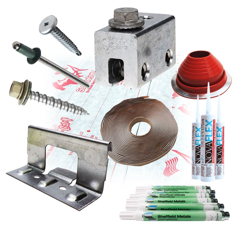 Metal Roofing Accessories & Components: Main