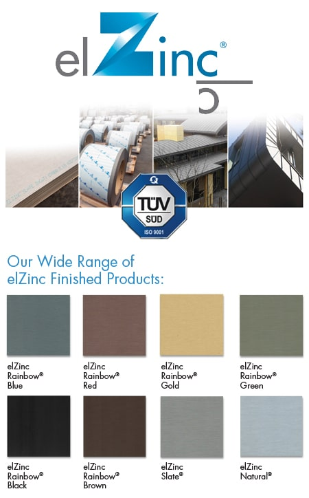 Specialty Coils & Sheets: elZinc