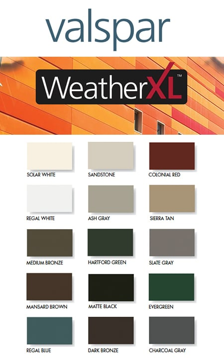 Specialty Coils & Sheets: Weather XL SMP