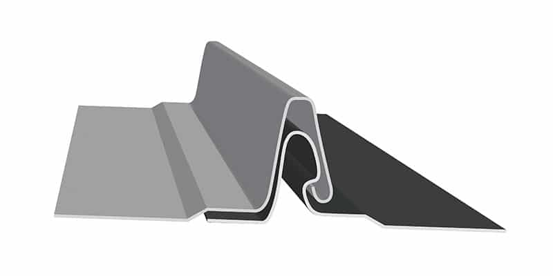 "Non-Engineered Standing Seam Metal Roofing Profiles: SMI 1.5"" Fastener Flange Profile"