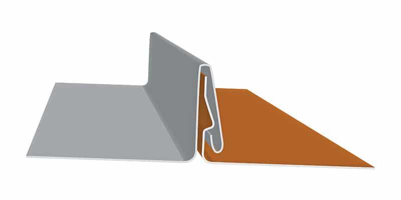 "Non-Engineered Standing Seam Metal Roofing Profiles: SMI 1.5"" SnapLock 450 SL Profile"