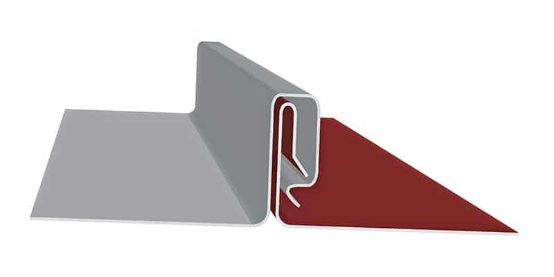 "Engineered Standing Seam Metal Roofing Profiles: SMI 1.75"" SnapLock Profile"