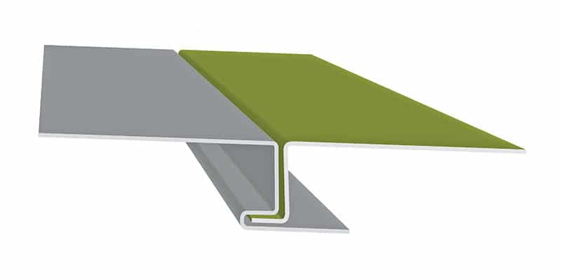 "Engineered Standing Seam Metal Roofing Profiles: SMI 1"" Flush Wall & Soffit Profile"