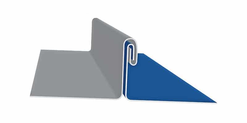 "Engineered Standing Seam Metal Roofing Profiles: SMI 2"" Mechanical Seam Profile"