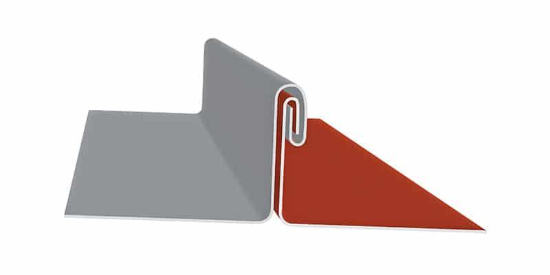 "Engineered Standing Seam Metal Roofing Profiles: SMI 2"" Schlabach Mechanical Seam Profile"