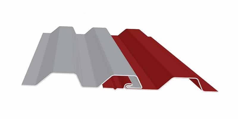 Engineered Standing Seam Metal Roofing Profiles: SMI WAV Wall Profile