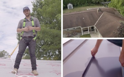 Considerations When Installing Standing Seam Metal Over Shingles