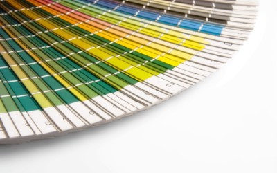 26-Gauge Color Chart & Card