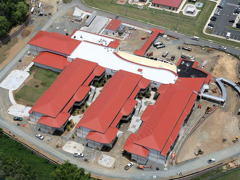 Commercial Metal Roofing Project: Antilles Elementary School