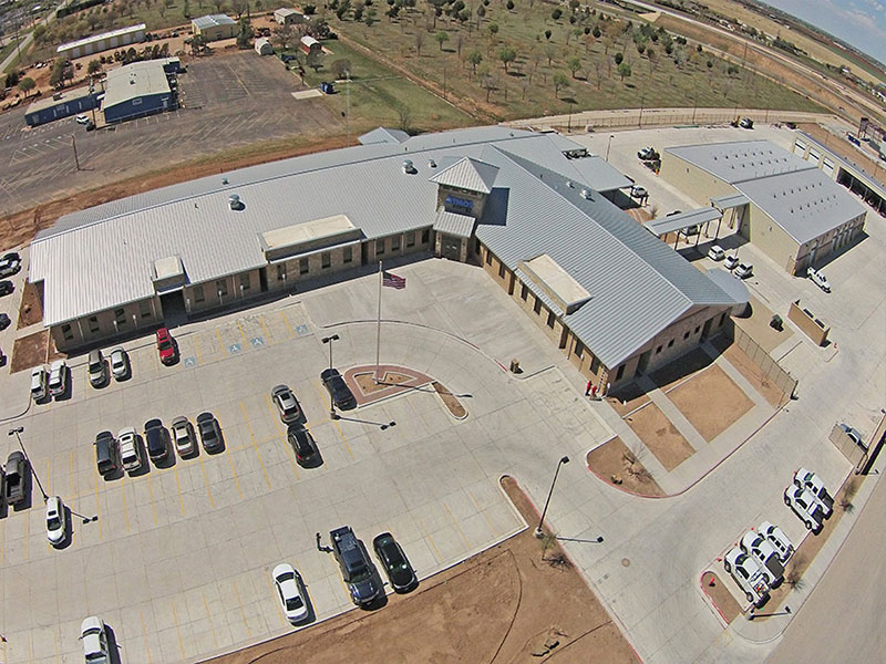 Commercial Metal Roofing Project: Atmos Energy Facility