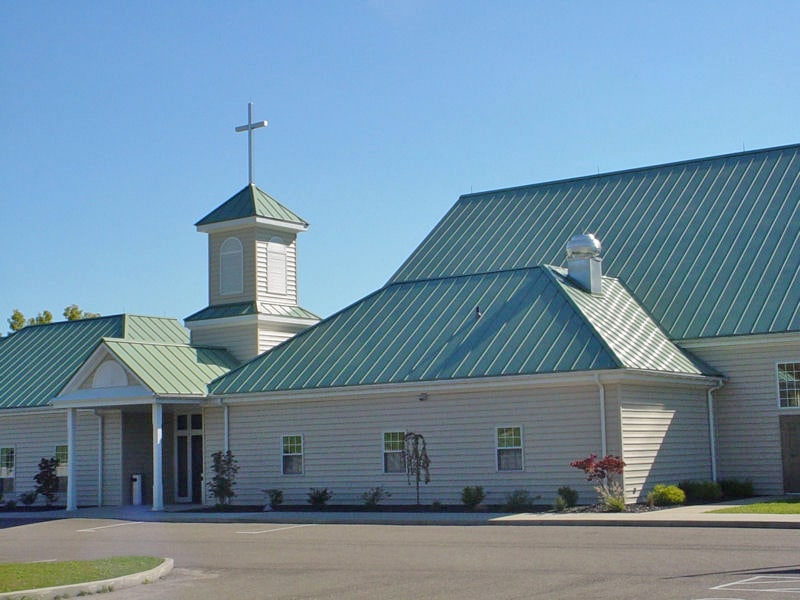 Commercial Metal Roofing Project: Church of Zoar