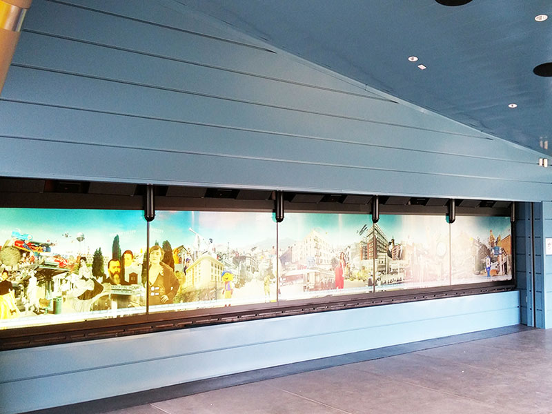 Commercial Metal Wall Project: Digital Wall 2