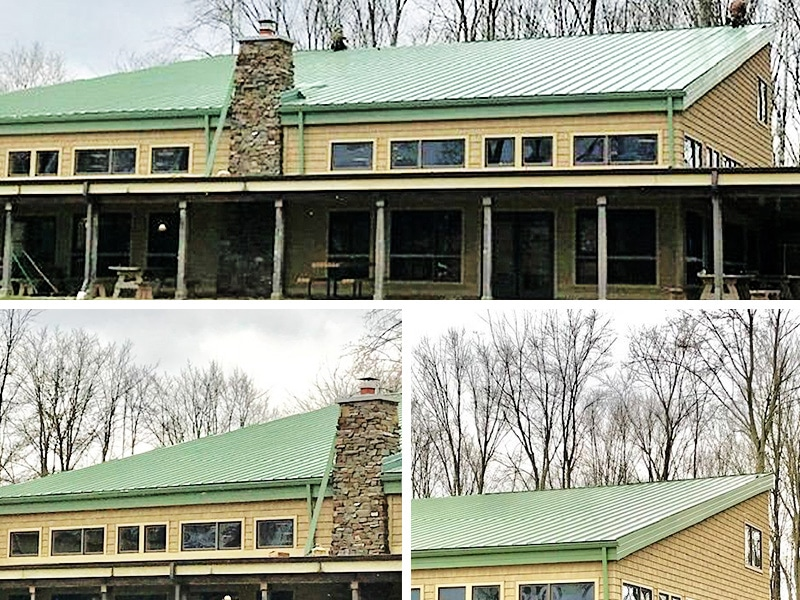 Commercial Metal Roof Project: Edgewater Program Center