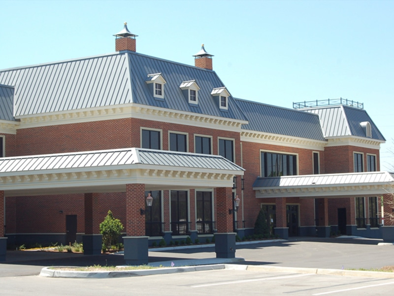 Commercial Metal Roof Project: Eye Center South