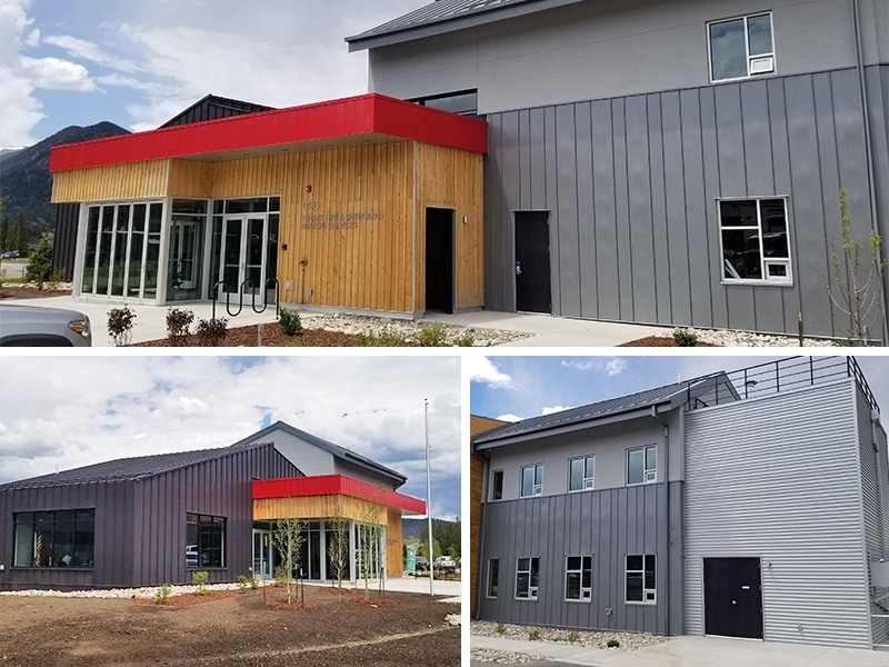 Commercial Metal Roof / Wall Project: Frisco Fire & EMS Station