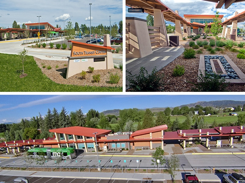 Commercial Metal Roof / Wall Project: Max BRT South Transit