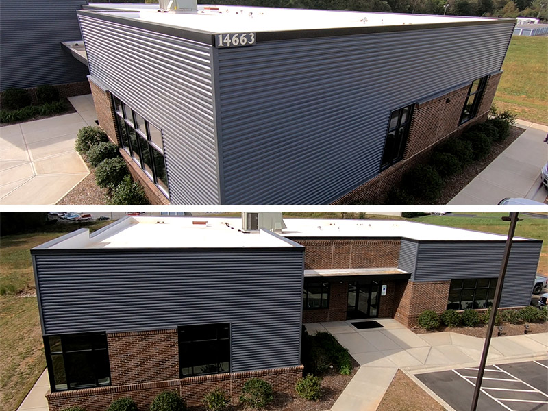 Commercial Metal Wall Project: Metal Roofing Systems