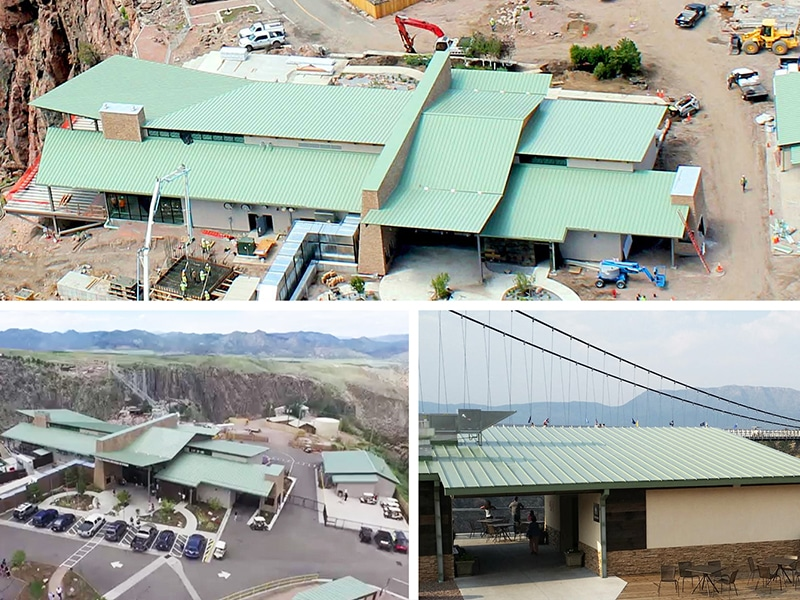 Commercial Metal Roof Project: Royal Gorge