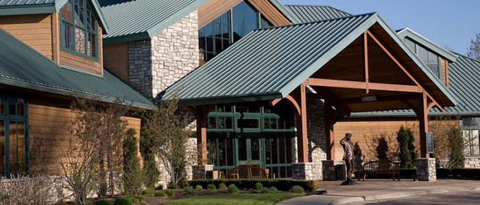 Commercial Metal Roof Project: Stonewater Country Club