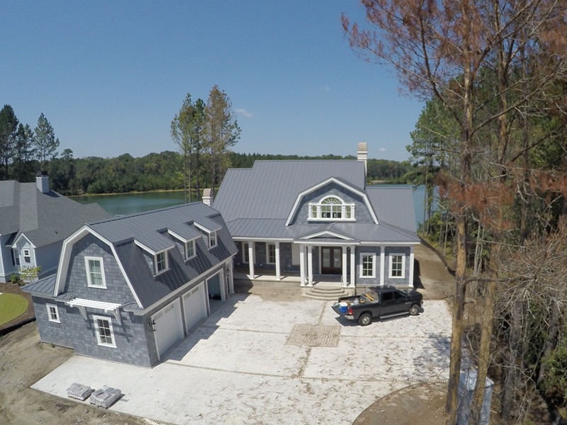 Residential Metal Roof Project: Hampton Lakes