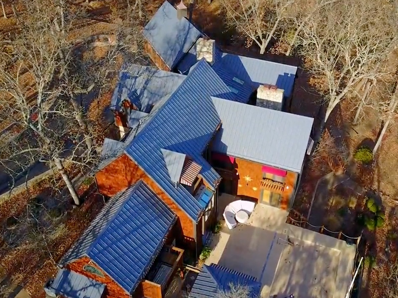 Residential Metal Roof Project: Lake of the Ozarks