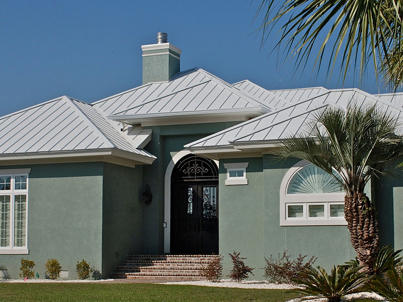 Residential Metal Roof Project: Residence 2