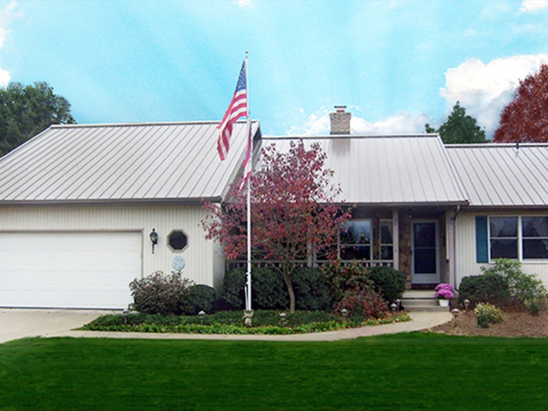 Residential Metal Roof Project: Residence 4