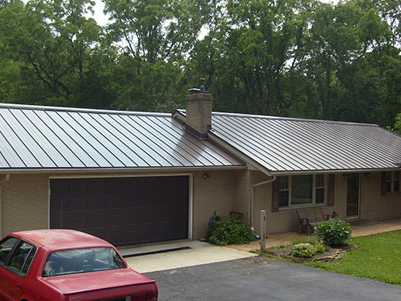 Residential Metal Roof Project: Residence 5