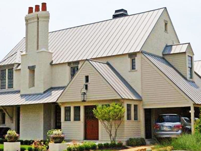 Residential Metal Roof Project: Residence 6