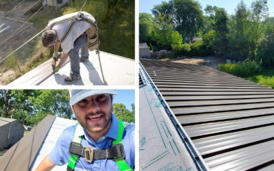 How to Install Snaplock Standing Seam Metal Roofing Panels