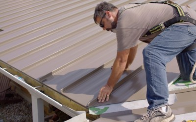 How to Install Standing Seam Metal Roofing Panels in a Valley