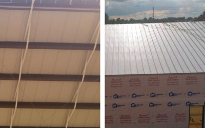 Open Framing Metal Roof Applications: Structural vs. Architectural