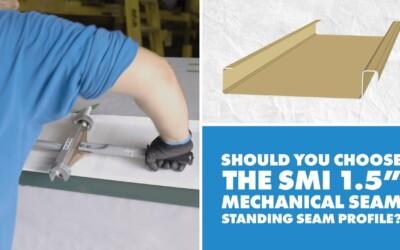 SMI 1.5″ Mechanical Seam Metal Panel: Uses, Installation, Engineering