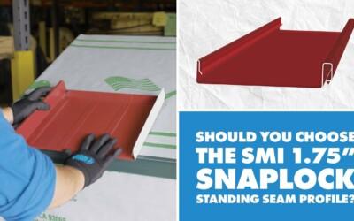 SMI 1.75″ Snaplock Metal Roof Panel: Uses, Installation, Engineering