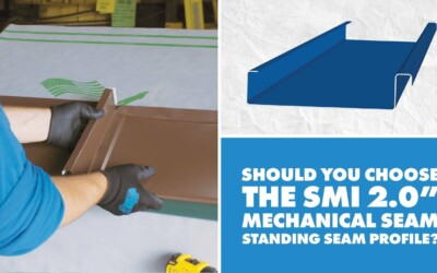 SMI 2.0″ Mechanical Seam Metal Panel: Uses, Installation, Engineering